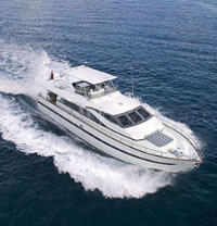 Motor Yacht charter in the Caribbean by SailAway Yacht Charters
